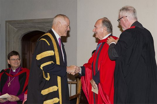 Honorary Degree for Aga Khan