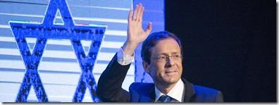 Israeli prime minister candidate Isaac Herzog