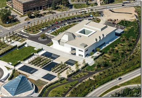 Aga Khan Museum and Ismaili Centre. Toronto