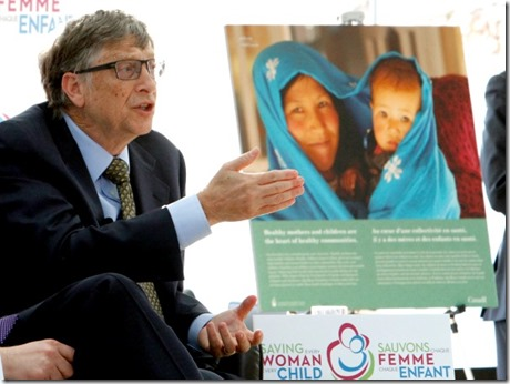 Bill Gates is co-chair and trustee of the Bill and Melinda Gates Foundation, which gave out $3.9 billion in grants in 2014 to support improvements in quality of life around the world.