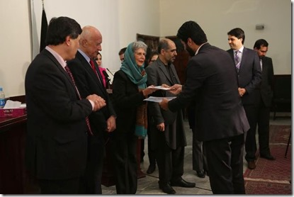 Certificate Programme in Policy Analysis (CPPA) at a ceremony