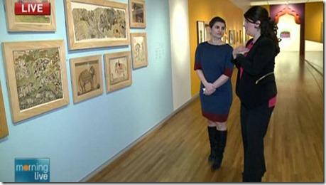 Lori at the Aga Khan Museum