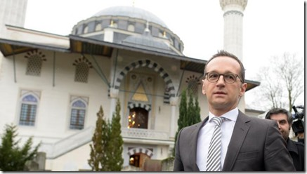 Minister for Justice Heiko Maas
