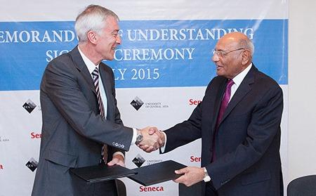 University Of Central Asia Signs Milestone Curriculum Development Agreement With Seneca College Canada Paderborner Sj Blog