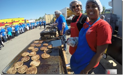 An estimated 1,300 volunteers made visitors feel welcome at the Canadian Ismaili Games in Calgary. Phil Musani