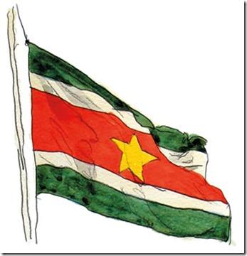 Flag of Surinam