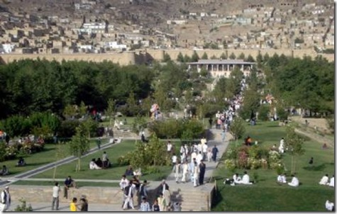 The Bagh-e-Babur, Kabul