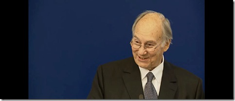 HH the Aga Khan speaking at 50th Anniversary of ICOMOS in London on 22.10.15