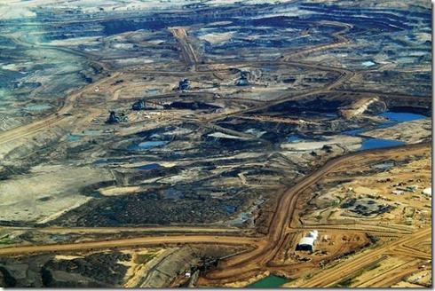 Tar sands in Alberta. Creator
