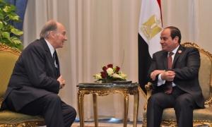 Mawlana Hazar Imam meets with Egyptian President Abdel-Fattah El-Sisi