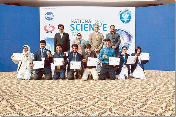 Pakistani Students wins in National Science Fair are to participate at International Science & Engineering Fair in Phoenix, Arizona