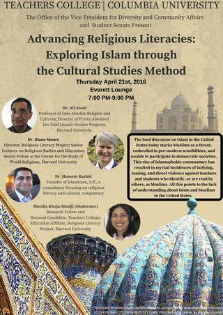 Panel, Advancing Religious Literacies- Exploring Islam through the Cultural Studies Method