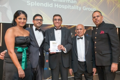 Winner- Shiraz Boghani, Chairman, Splendid Hospitality Group
