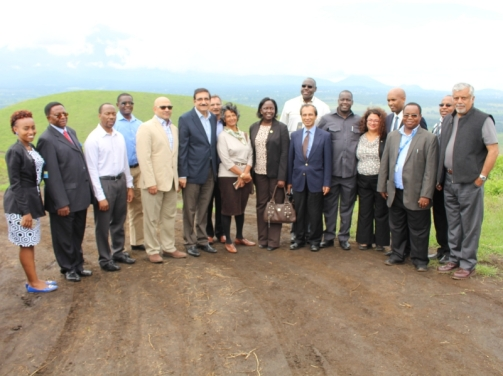 Aga Khan University - Arusha Campus construction in the offing three