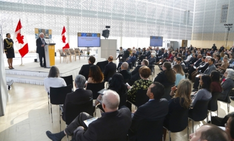 Attendees from more than 20 countries and representatives from more than a dozen Canadian universities gathered for the Smart Global Development conference,