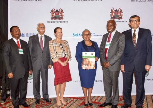 First Lady and Princess Zahra Aga Khan inaugurate a landmark Kenya Countdown to 2015 Country Case Study Report