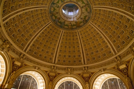 The Dome of the Library of Congress
