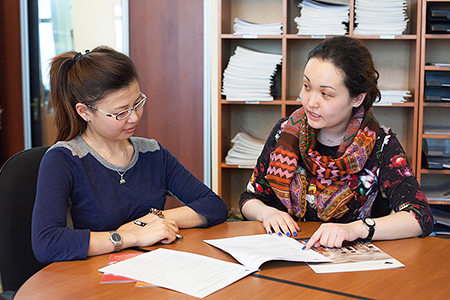 University of Central Asia Students
