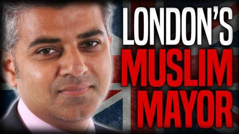 London's Muslim Mayor Sadiq Khan