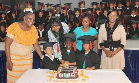 Aga Khan Nursery School, Mombasa K3 Graduation Day