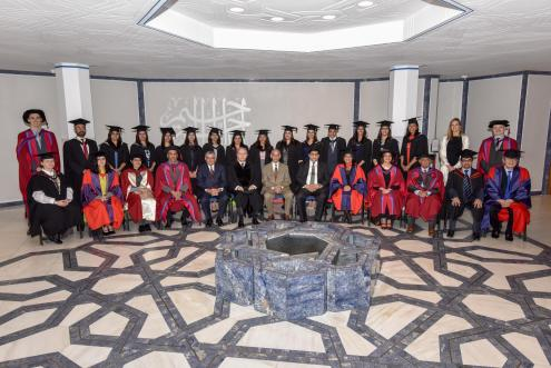 Graduates with the Board of Governors and faculty members- STEP Graduation