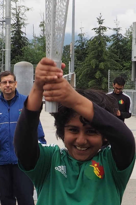 Ismaili Soccer Camp welcome for the Jubilee Games lantern
