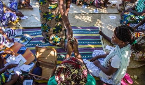 Trainings for communities to mange own finance
