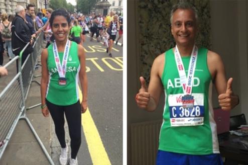 AKF Run Team who ran in British 10K-