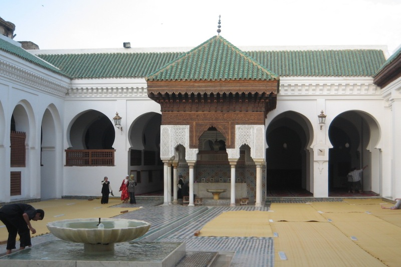 Al-Qarawiyyin complex in Fez, Morocco