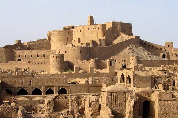 Bam Citadel in Iran