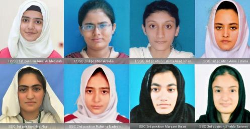 Girls top AKU-EB's SSC & HSSC exams for 4th consecutive year
