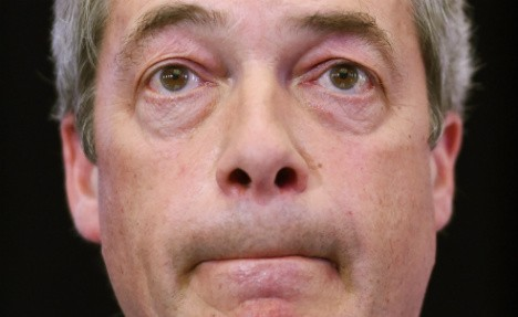 Nigel Farage. Photo- DPA