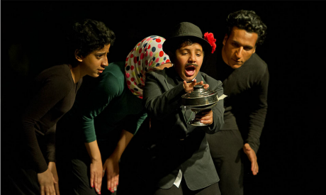 From the performance of Lost and Found in April 2014. (Photo- Bassam Al Zoghby