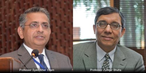 Prof. Syed Ather Enam, Porf. Zulfiqar Bhutta