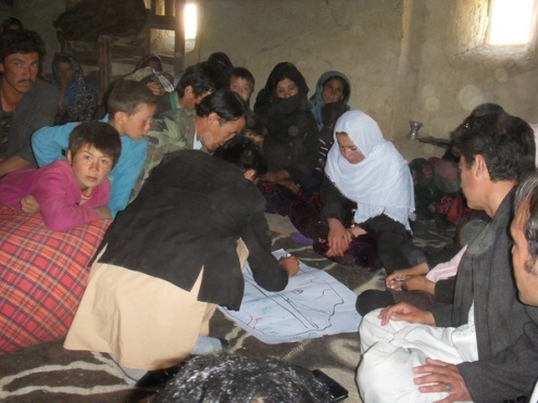 The project aims at improving standards of living for families in rural areas