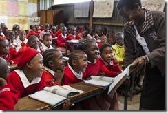 Primary School in Mukuru, Kenya.