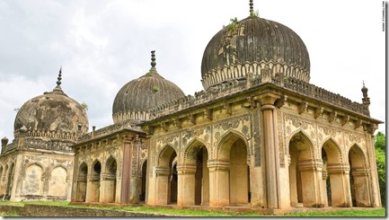 Restored tombs of Hyderabad