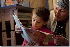 The Reading for Children (RfC) programme, Sokhcharv Village, Tajikistan.