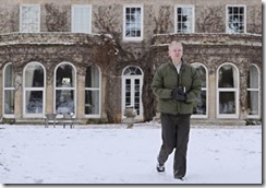 Julian Assange in the grounds of Ellingham Hall in December 2010. Carl Court