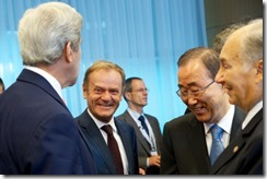 Mr John KERRY, Mr Donald TUSK, President of the European Council- Mr Ban Ki MOON, - His Highness the Aga KHAN