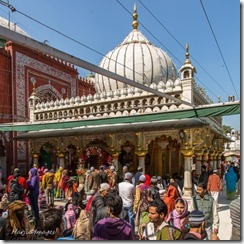 The dargah receives an average of 50,000 visitors a day, with the number rising to double that on Thursdays. Photo- Muslim Harji. Copyright.