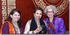 Prof. Rozina Karmaliani, Mahtab Akbar Rashidi and Prof Afaf Meleis