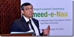 Professor Zulfiqar Bhutta, Founding Director, Centre of Excellence in Women and Child Health