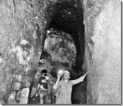Representatives of IHCN in one of the tunnels in Vijayapura.