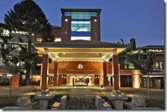 The Aga Khan University Hospital.