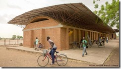 With his first work, the elementary school in his home village of Gando, Kéré won the renowned Aga Khan Award for Architecture in 2004.