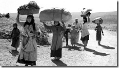 In 1948 hundreds of thousands of Palestinians were forced to flee