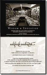 Wisdom & Education