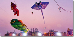 The three-day Kite festival held at Aga Khan Academy near RGI Airport,