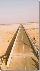 Sir Aga Khan Bridge in Sind